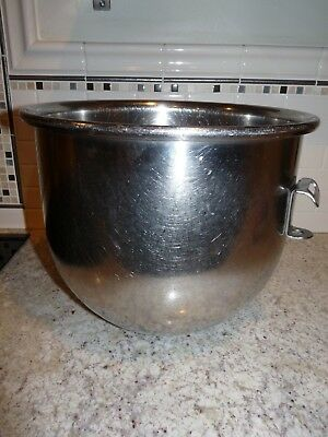Hobart Brand Stainless Steel Commercial Mixing Bowl for 20 Quart A200 Mixers