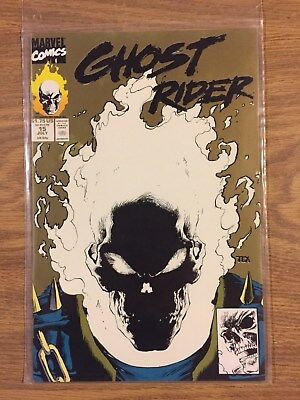 Ghost Rider (2nd Series) #15 Gold 1990 VF to NM  Marvel
