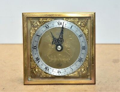 Elliot 8 day 7 jewel clock movement + dial French escapement good working order