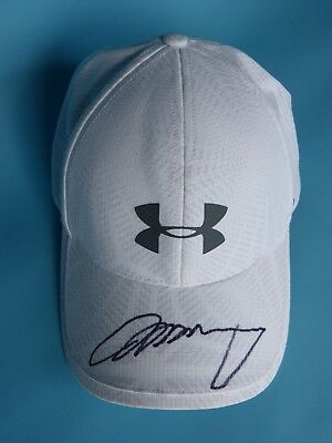 e124a6fd7f0 Andy Murray Full Signature Autographed Under Armour Adjustable Tennis Cap  Hat