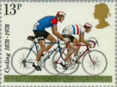 GREAT BRITAIN -1978- Cycling - 1978 Road-racers - MNH Stamp - Scott #846