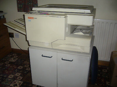 """MITA DC-1560 branded as """"UTAX C157"""" A3 Photocopier with under cupboard"""