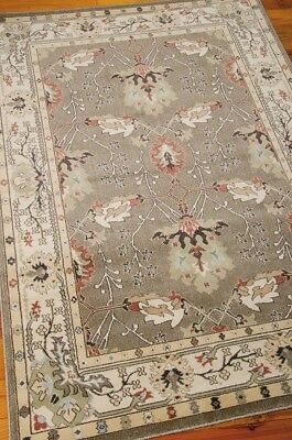 William Morris Style Arts & Crafts Mission Gray Area Rug **FREE SHIPPING**