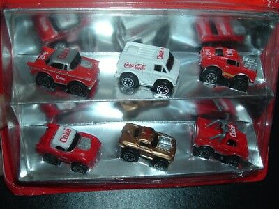 Coca Cola Hartoy Tiny Tuff Coke Advertising Older Toy collection Mint n Package