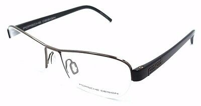 28ed375bff3 Porsche Design Rx Eyeglasses Frames P8211 A 52x17 Brown Made in Italy