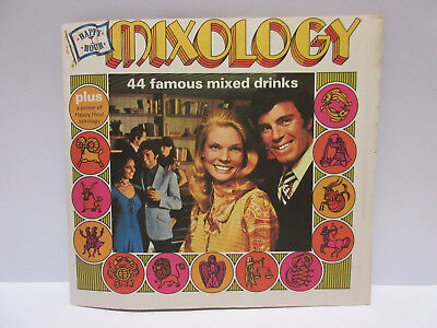 Vintage Mixology Mixed Drinks Cocktails Southern Comfort Recipes Zodiac 1971