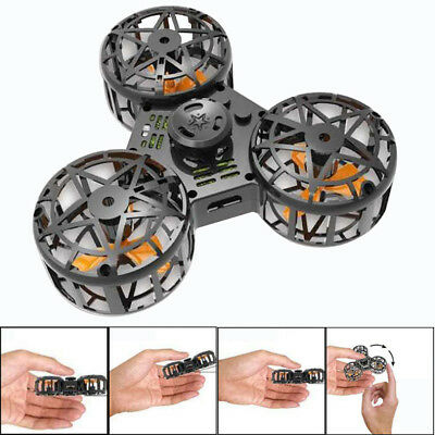 Tiny Toy Drone Flying Fidget Spinner USB charging Gift Flying Gyroscop Top Toy