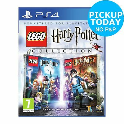 LEGO Harry Potter Series 1 to 7 Sony Playstation PS4 Game.