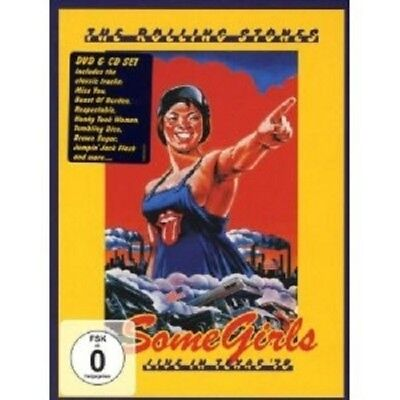 """The Rolling Stones """"some Girls-Live In..."""" Dvd + Cd New"""