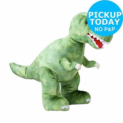 Chad Valley 62cm Tall Dinosaur Soft Toy 18+ Months