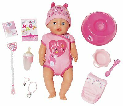 Baby Born 43cm Soft Touch Girl Doll with 11 Accessories