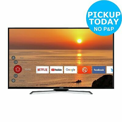 Hitachi 43HK25T74U 43 Inch 4K Ultra HD Freeview Play LED Smart TV with HDR