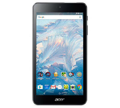 """Acer Iconia One 7 Tablet 7"""" Android 6.0 Quad Core 1GB RAM 16GB Android Black"""
