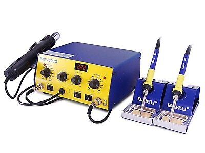 Hot Air Soldering Station With Double Soldering Irons Professional High Quality