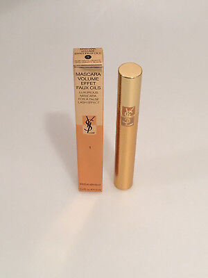 YSL Yves Saint Laurent Mascara Volume Effect Faux Cils Nr. 1 Black 7,5ml OVP!