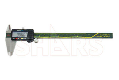 "SHARS 8"" 200mm Electronic Digital Caliper Stainless Large LCD .0005"" New"