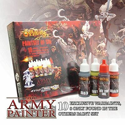 Army Painter - The Others: Paint Set of Sin Warpaints