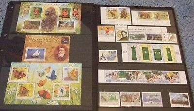 Ireland #1017//1265 1996-2000 Mnh Collection F-Vf Souvenir Sheets, Sets, Hi Vals