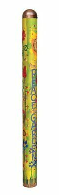Studio M Find Peace in the Garden Art Pole Fade-Resistant Decor 6-Feet Tall