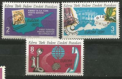 Cyprus turkish Cyprus EUROPE cept 1979 Without Fijasellos MNH