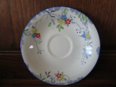 Vintage Sutherland Deco? Hand Painted 1X14cms Saucer