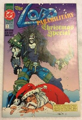 Lobo Paramilitary Christmas Special #1,  (Dec-1991) Dc, Higher Grade