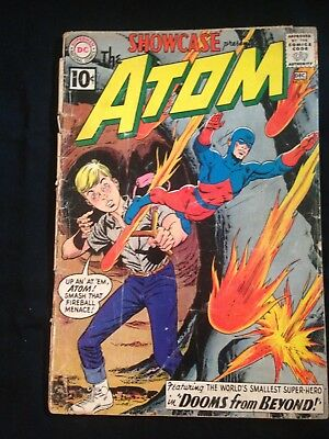 Showcase, #35, Dec. 1961, 2nd Appearance Of The Atom