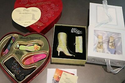 Just The Right Shoe - 3 Collector Sets - Total of 7 Shoes and Purse