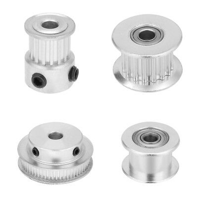 Aluminum MXL 15-60T 5mm Bore Timing Pulley Idler Synchronous Wheel for 7mm Belt