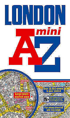 """AS NEW"" Geographers A-Z Map Company, London Mini Street Atlas (paperback) (A-Z"