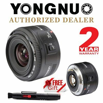 Yongnuo YN35mm EF 35mm F/2 Wide-angle Fixed Auto Focus Lens for Canon Camera AU