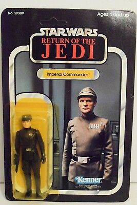 Kenner Star Wars Return of the Jedi Imperial Commander MOSC MOC carded