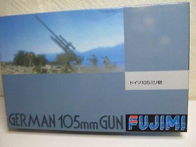 124MB -3 - Fujimi 38033 - 1:76 - Bausatz German 105mm Gun - top in OVP