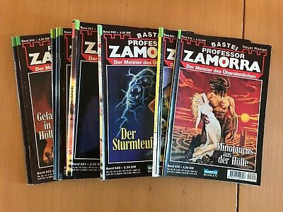 Romanheft Serie Professor Zamorra 10 Hefte Pack 8