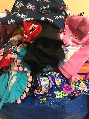 Huge job lots of mostly children's and ladies swimwear