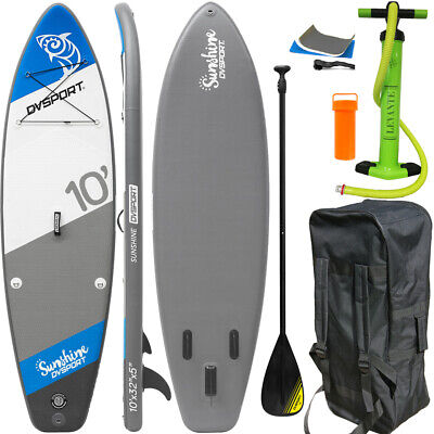 Dvsport Sunshine 305 Stand Up Paddle Surfboard Inflatable Paddel Pumpe Sup Isup
