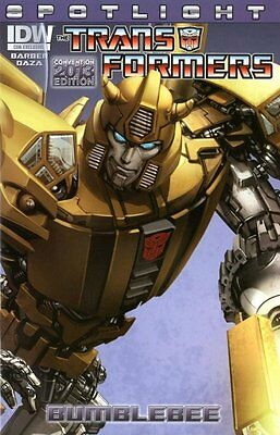 TRANSFORMERS SPOTLIGHT BUMBLEBEE, CONVENTION 2013 EDITION, New, IDW (2013)