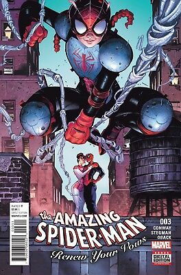 AMAZING SPIDER-MAN RENEW YOUR VOWS #3, New, First print, Marvel Comics (2016)