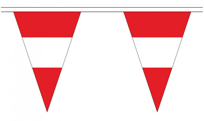 Sweden 5M Triangle Flag Bunting 12 Flags Triangular