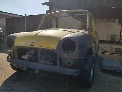Classic Mini Convertible Unfinished Project Spares Or Repair Austin