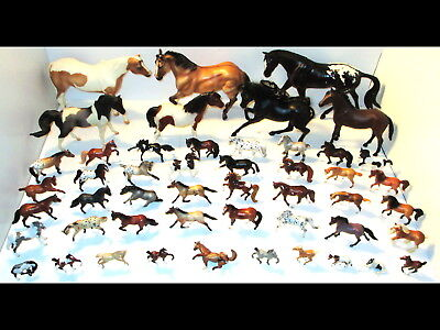 49 Breyer Horses/Stallions/Mares/Foals Lot Classic/Stablemates/Mini/Traditional