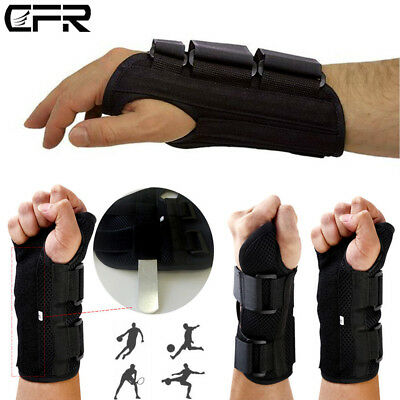 Wrist Brace Splint Carpal Tunnel Protector Support CTS RSI Pain Relief Strap AU