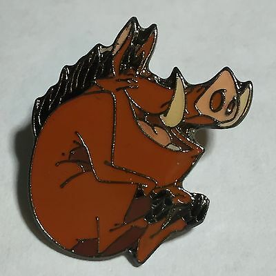 Disney RARE Germany Propin Pumbaa Warthog from The Lion King Cannonball Pin