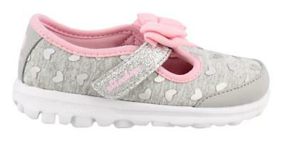 8f992e50cca06 Girl' Skechers Go Walk Bitty Hearts Shoes Toddler Casuals Girls Shoes Low  Heel