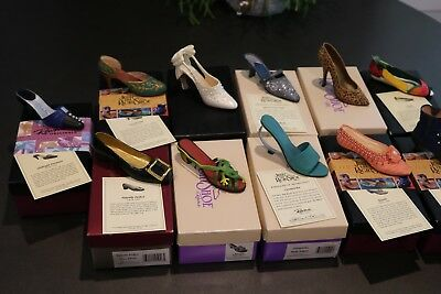Just The Right Shoe - Another Lot of 11 Different Shoes with Boxes