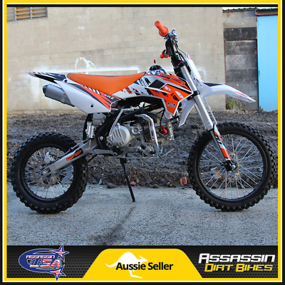 Assassin A190 Zongshen ZS190 Dirt Bike 190cc 14R 17F PIT TRAIL PRO