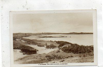 """""""""""postcard.l'ancresse Bay And Common,guernsey,channel Islands"""""""""""