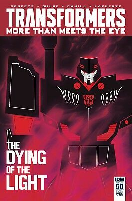 TRANSFORMERS MORE THAN MEETS EYE #50, BIGGIE VARIANT, New, IDW (2016)