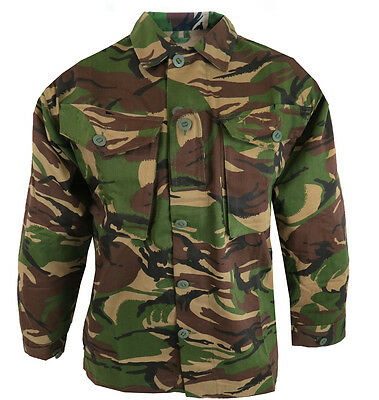 Soldier 95 Style Camo Army Long Sleeve Shirt. British DPM Military Camouflage