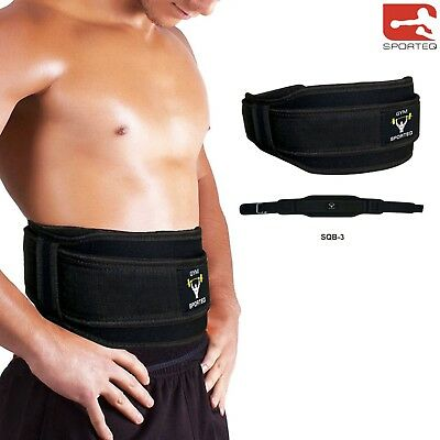 Weight Lifting Belt Body Building Exercise Neoprene Gym Fitness Workout Training